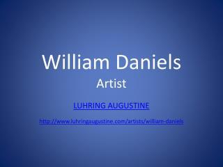 William Daniels Artist