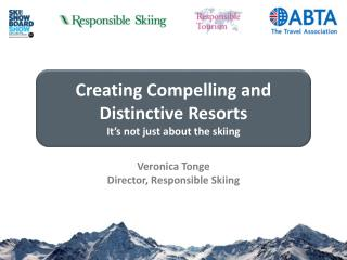 Veronica Tonge Director, Responsible Skiing