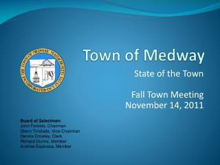 Town of Medway