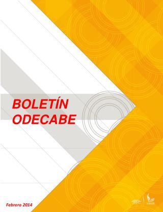 BOLETÍN ODECABE