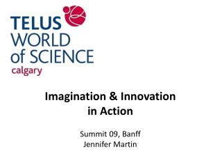 Imagination & Innovation in Action