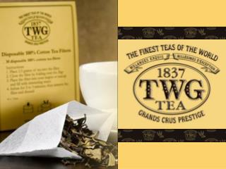 About TWG Tea