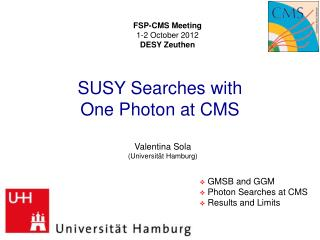 SUSY  Searches with  One Photon at  CMS
