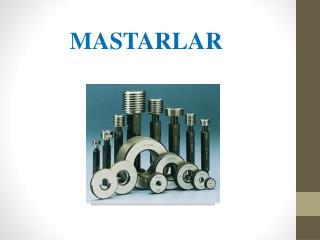 MASTARLAR