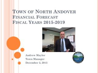 Town of North Andover Financial Forecast Fiscal Years 2015-2019