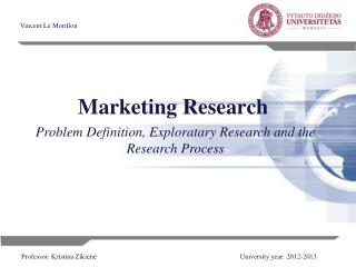 Marketing  R esearch