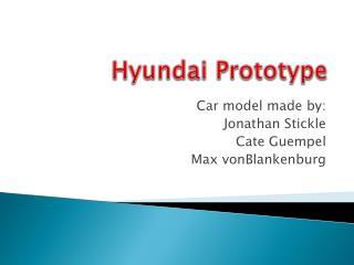 Hyundai Prototype