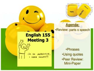 English  155 Meeting 3
