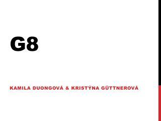 Kamila  Duongová &  Kristýna  G üttnerová
