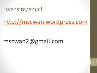 website/email