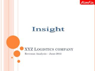 XYZ Logistics company