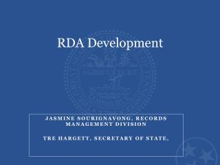 RDA Development