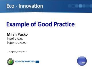 Example of Good Practice