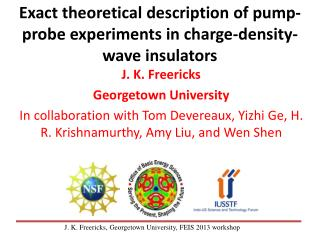 Exact theoretical description of pump-probe experiments in charge-density-wave insulators
