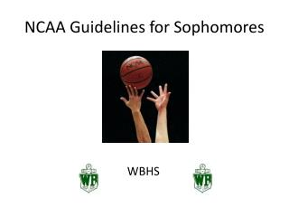 NCAA Guidelines for Sophomores
