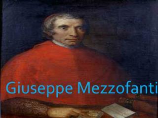 Giuseppe  Mezzofanti