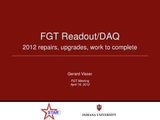 FGT Readout/DAQ