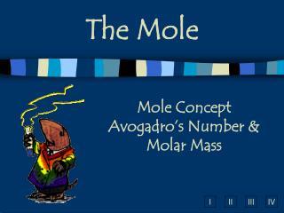 Mole Concept Avogadro's Number & Molar Mass