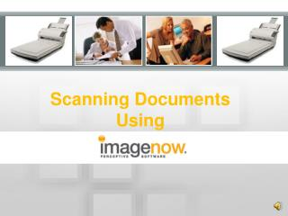 Scanning Documents Using