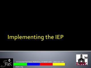 Implementing the IEP