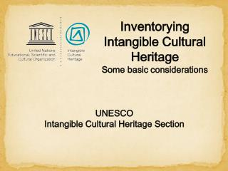 UNESCO  Intangible  Cultural Heritage  Section