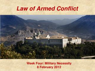 Law of Armed Conflict