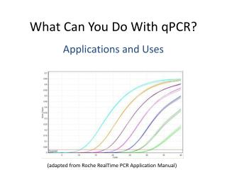 What Can You Do With qPCR?
