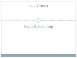 12.2 Viruses