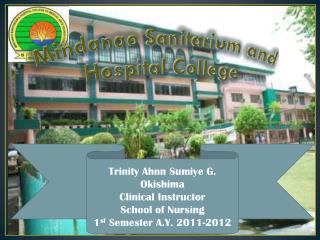 Mindanao Sanitarium and Hospital College