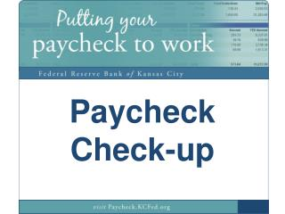 Paycheck Check-up
