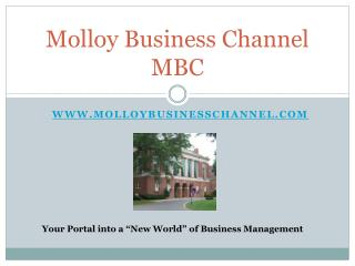 Molloy Business Channel MBC