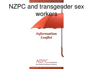 NZPC and transgender sex workers