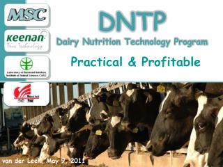 DNTP Dairy Nutrition Technology Program