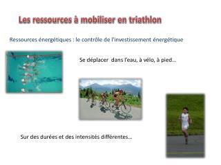 Les ressources à mobiliser en triathlon