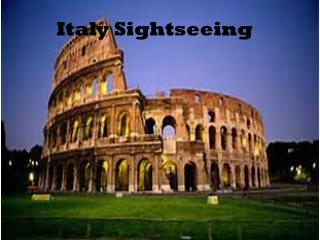 Italy Sightseeing