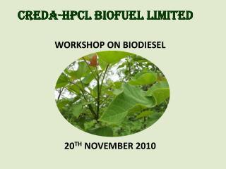CREDA-HPCL BIOFUEL LIMITED