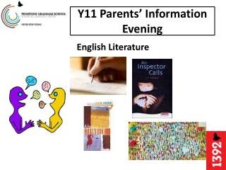 Y11 Parents' Information  E vening