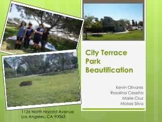 City Terrace Park Beautification