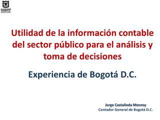Utilidad  de la información contable  del sector público para el análisis y toma  de decisiones