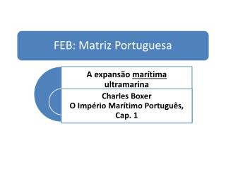 Por que  Portugal  tomou a dianteira? Quais foram as motivações dos  portugueses ?