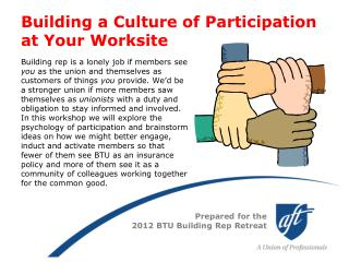 Building a Culture of Participation at Your Worksite