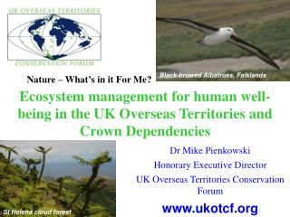 Ecosystem management for human well-being in the UK Overseas Territories and Crown Dependencies