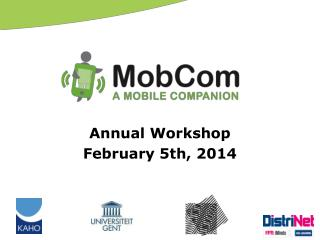 Annual  Workshop February 5th, 2014
