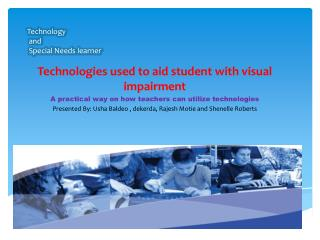 Technology  and   Special Needs learner