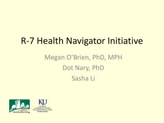 R-7 Health Navigator Initiative