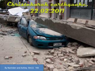 Christchurch earthquake. 22.02.2011