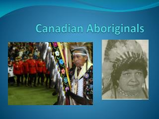 Canadian Aboriginals