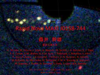 Rapid Nova MAXI J0158-744