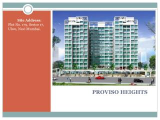 PROVISO HEIGHTS