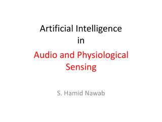 Artificial Intelligence in
